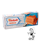 Verkade Nizza tea biscuits coconut 240g