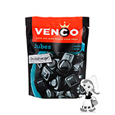 Venco Jubes salty soft liquorice with a hint of liquorice powder 255g