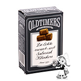 "Oldtimers hard, salty liquorice ""bricks"" with liquorice powder 225g"