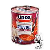 Unox Rich Chinese tomato soup 800ml