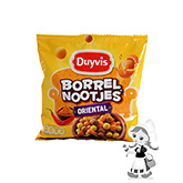 Duyvis nuts in crispy layer oriental chili & curry flavour 300g