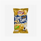Lay's Superchips med salt og peber 200g