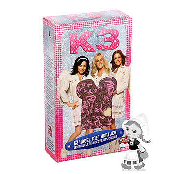 K3 Princesses' chocolate sprinkles 400g