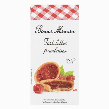 Bonne Maman Raspberry tartlets 135g